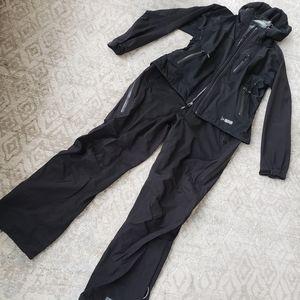 REI E1 Elements Rain Pants & Jacket LG